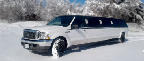 12 passenger SUV Limousine at Royal Rose Limousines